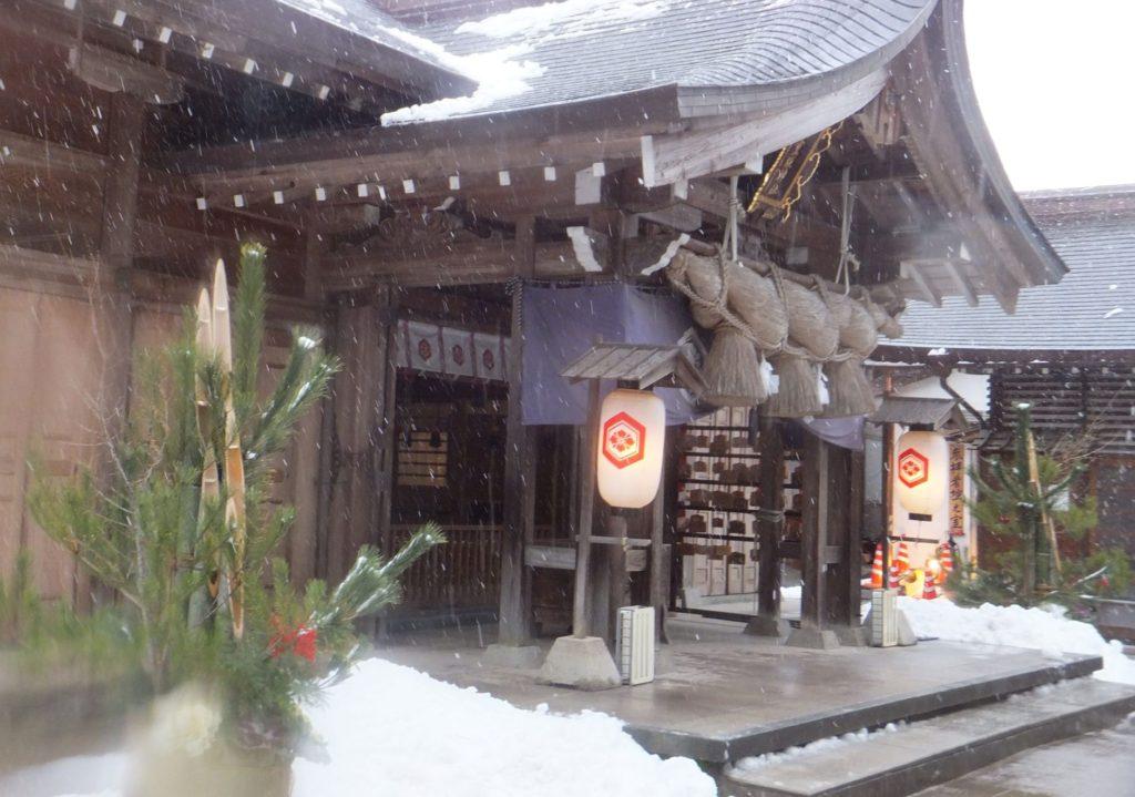 2019年新春、八重垣神社