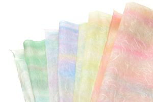 土佐雲竜顔料染の和紙4色