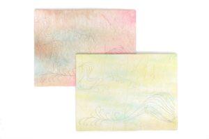 「絆アート」図案:穏やかな海