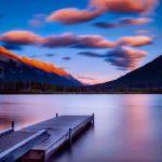 【#オーダーメードプチ動画】湖の夕暮れ写真にオーボエとフルートの響きが美しい#お礼の#プチ動画はいかがですか?「絆のプチ動画#35」